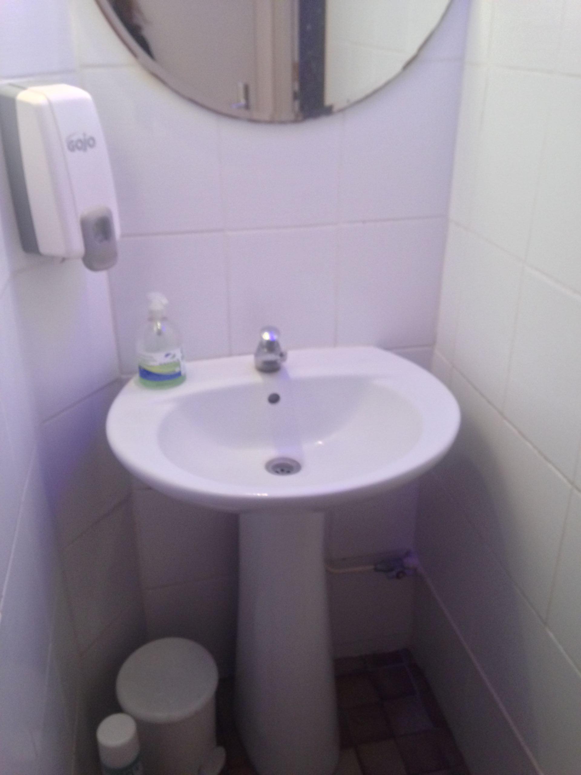 Les toilettes Dames avant