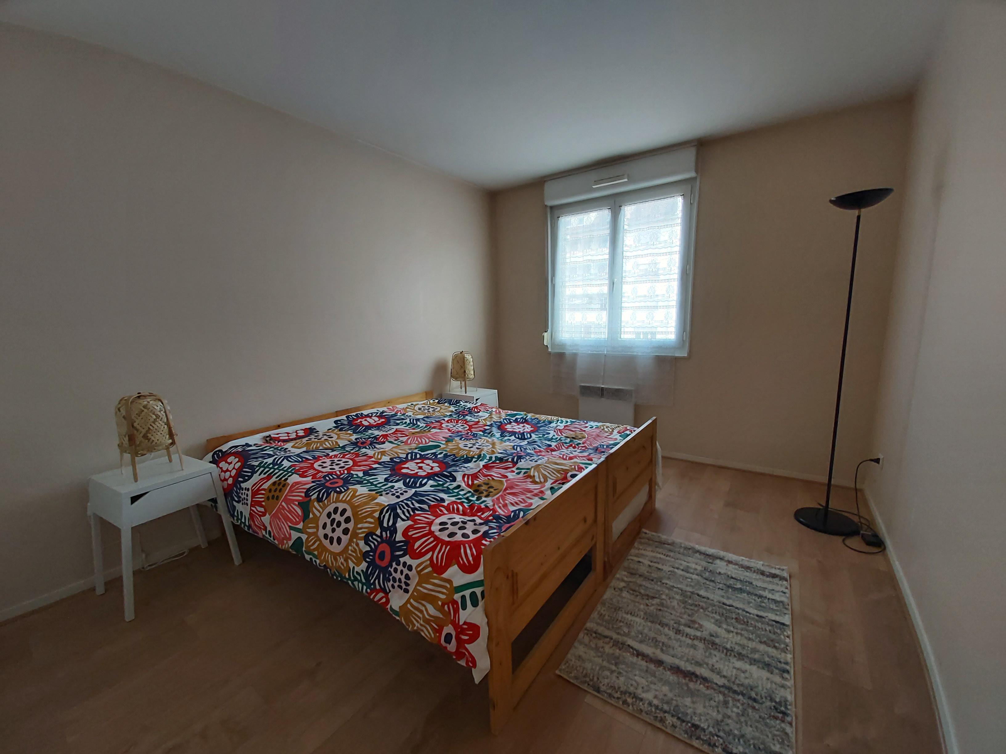 chambre après