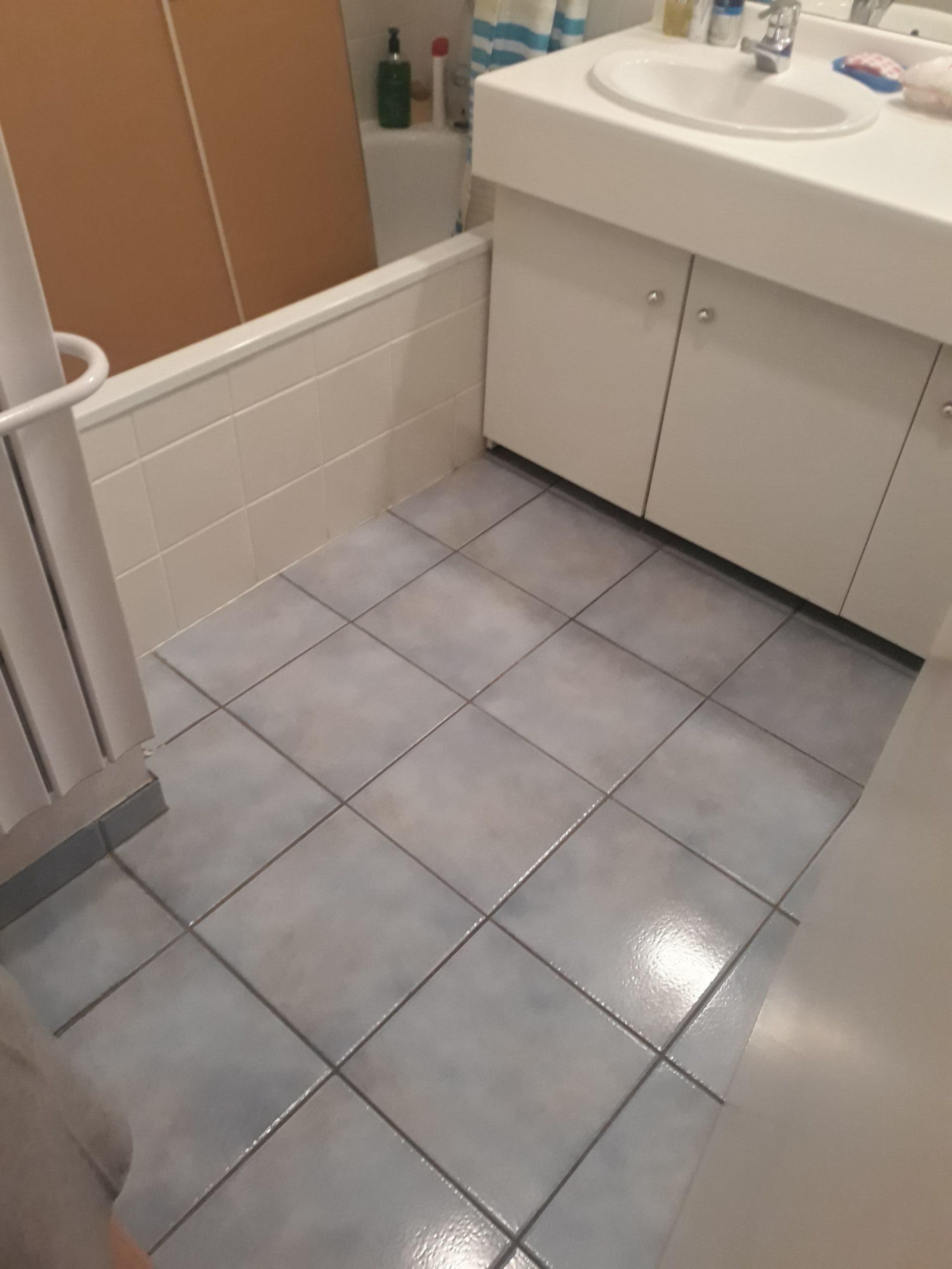 salle de bains avant